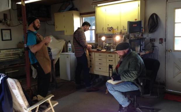 Sean, Ben, and David.